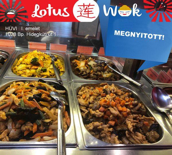 Lotus Wok nyitás